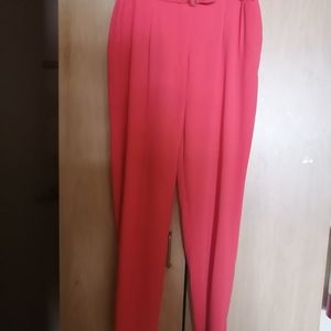 NWT Forever21 coral dress pants